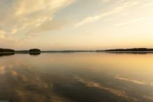 Widok Na Jezioro W Polsce, Mazury