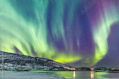 Fotografie, Obraz  Northern lights