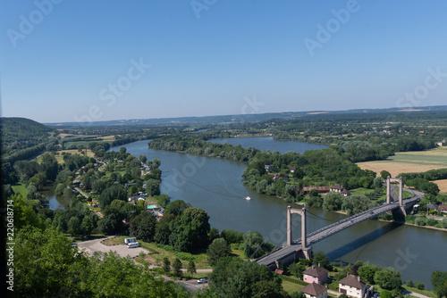 Fotografia  The Seine from Chateau Gaillard 1