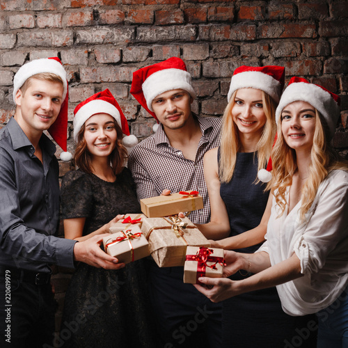 Black People Christmas Pictures.Christmas Party New Year Celebration Sale Black Friday