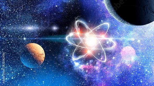 Obraz Astronomy concept backdrop - fototapety do salonu