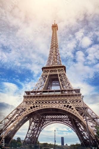 Deurstickers Centraal Europa Eiffel Tower