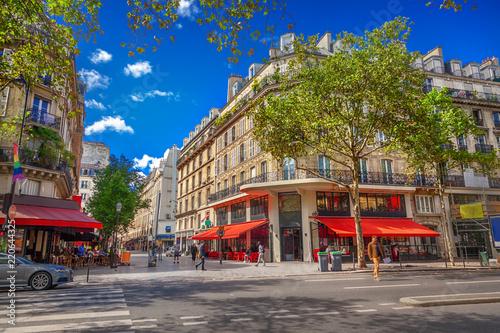 Deurstickers Centraal Europa Street in Paris