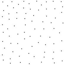 Mini Black Polka Dot. Seamless...
