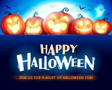 Happy Halloween. Jack O Lanter...