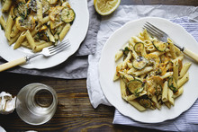 Pasta With Zucchini And Summer...