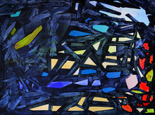 Abstract Painting Named Escape...