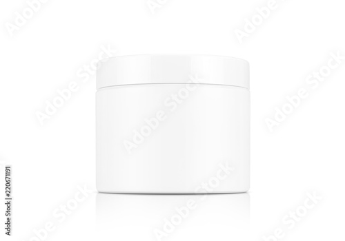 Fotografie, Obraz cosmetic cream pot isolated on white background