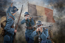 French Soldiers 1914 1918 Atta...