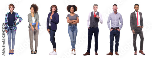 Obraz Group of people - fototapety do salonu