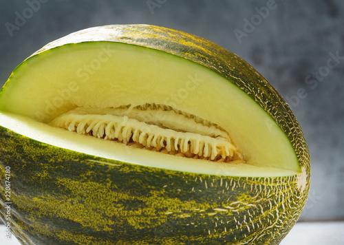 Futoro Melone aufgeschnitten, Piel de Sapo