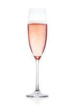 Rose Pink Champagne Glass With...