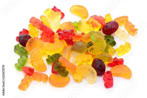 Foto op Canvas Snoepjes Fruchtgummi