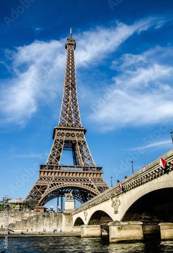 Papiers peints Paris Eiffeltum - Paris, Frankreich