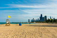 Chicago North Side Beach With ...