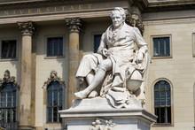 Alexander Von Humboldt Statue ...