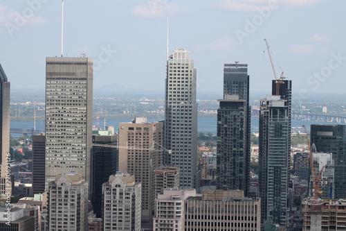 Fotografia, Obraz  Centre ville de Montréal.