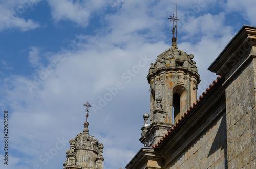 Torres Del Santuario De Los Milagos, Baños De Molgas. Ourense, Galicia.  España