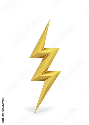 Lightning bolt symbol Fototapete