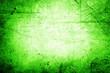 canvas print picture - Green concrete wall
