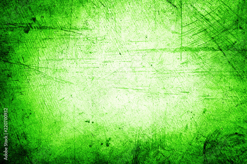 Green concrete wall