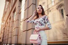 Young Woman Wearing Beautiful ...