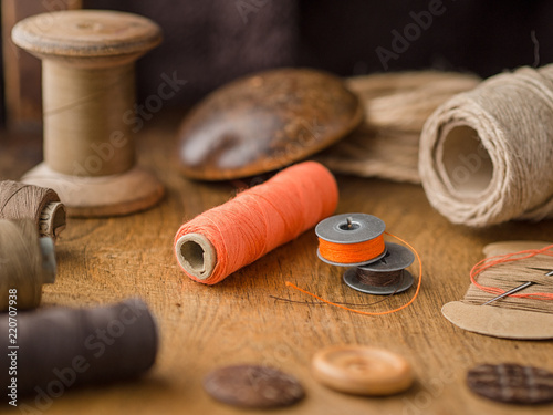 Foto  Vintage tools for sewing