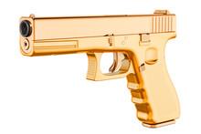 Golden Gun, 3D Rendering