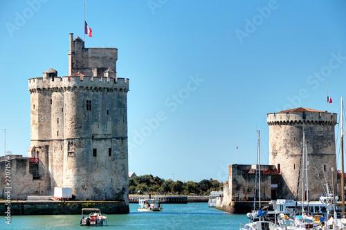 Poster Port Le port de La Rochelle et ses deux tours