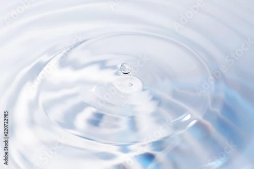Spoed Foto op Canvas Fractal waves 水面