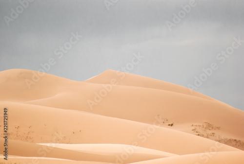 Sand dunes in Gobi desert Fototapeta