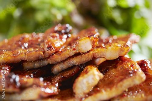 Korean spicy marinated pork