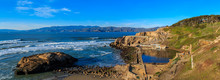 Pacific Coastline With Sutro Baths Ruins In San Francisco, California