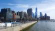 New York City walkside
