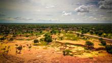Aerial Panoramic Landscape Vie...