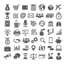 Business Icons Set. Icons For ...