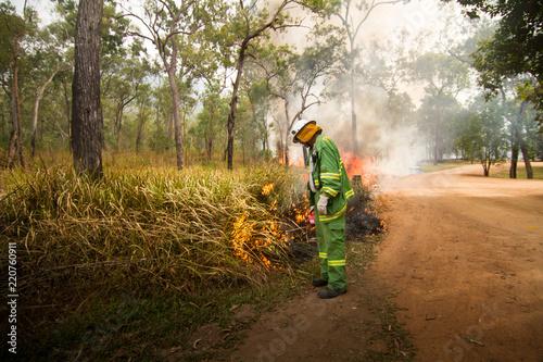 Fotografía  Bushfire Australia Nationalpark
