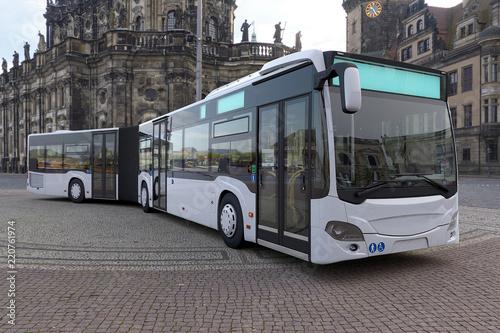 Fotografía  CG Gelenkbus Render