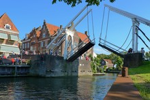 Klappbrücke In Enkhuizen (NL)