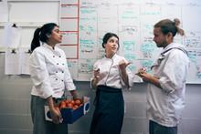 Chefs Planning Menu