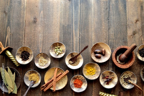 Foto op Plexiglas Kruiden Many kinds of spices