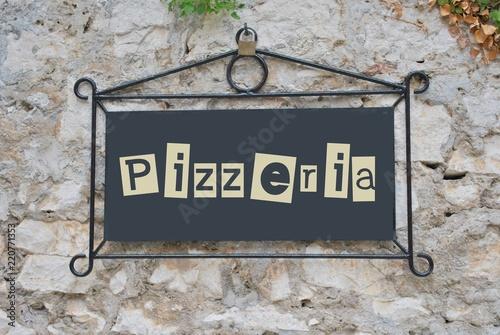 Foto op Canvas Pizzeria Pizzeria