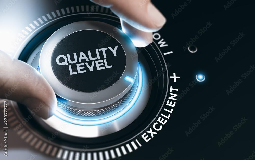 Fototapeta Quality Improvement and Management System.