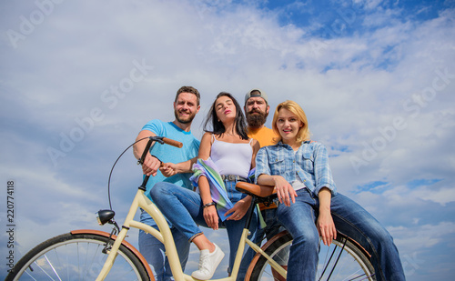 Fotografiet Share or rental bike service