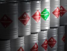 Flammable Liquid 3d Rendering Image