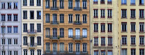 Old european buildings facade © gdvcom