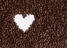Love Of Coffee, Symbol Of Love...