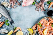 Fresh Raw Seafood