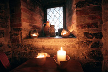 Authentic Medieval Tavern. Int...