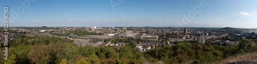 Foto op Aluminium skyline van Charleroi